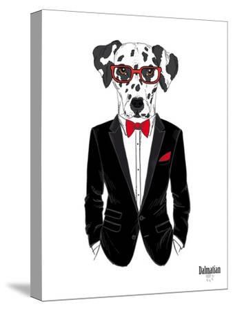 Dalmatian Dog in Tuxedo