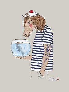 Horse Sailor by Olga Angellos