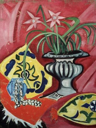 Still life with vase. 1912
