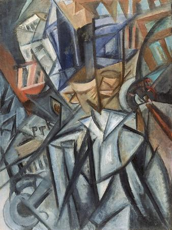Man on the Street (Analysis of Volume), 1913
