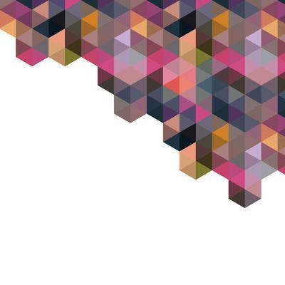 Triangle Pattern Backgound Texture Vector
