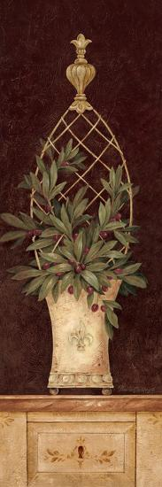 Olive Topiary I-Pamela Gladding-Premium Giclee Print