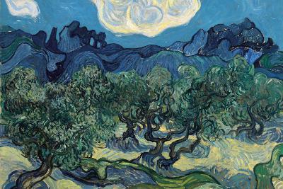 Olive Trees, 1889-Vincent van Gogh-Wall Mural