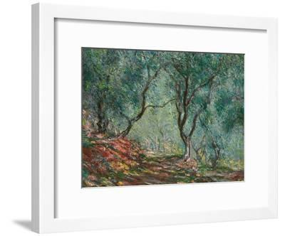 Olive Trees in the Moreno Garden, 1884-Claude Monet-Framed Giclee Print