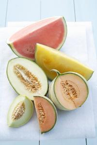 Melon Still Life by Oliver Brachat