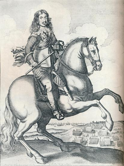 'Oliver Cromwell', 1640-Unknown-Giclee Print