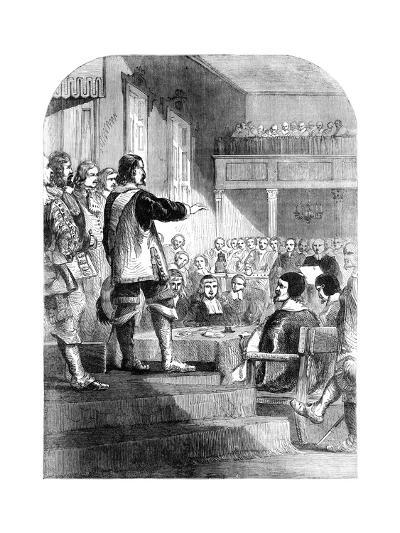 Oliver Cromwell, Refusing to Accept the Crown, C1902--Giclee Print
