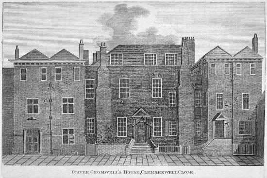 'Oliver Cromwell's House, Clerkenwell Close', London, 19th century-Unknown-Giclee Print