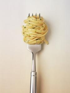 Fork with spaghetti by Oliver Eltinger