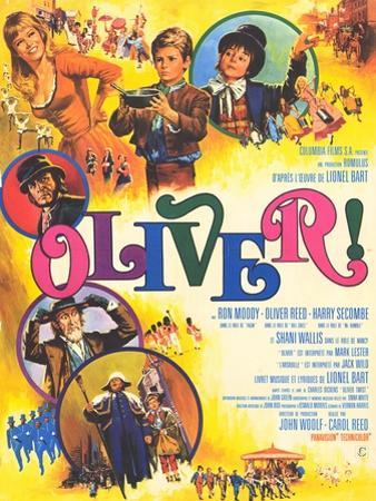 Oliver, French Movie Poster, 1969