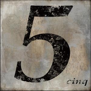 Cinq by Oliver Jeffries