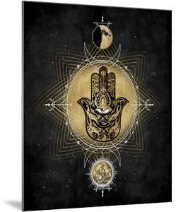 Hamsa Hand Celestial by Oliver Jeffries