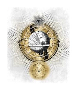 Zodiac Sphere II by Oliver Jeffries