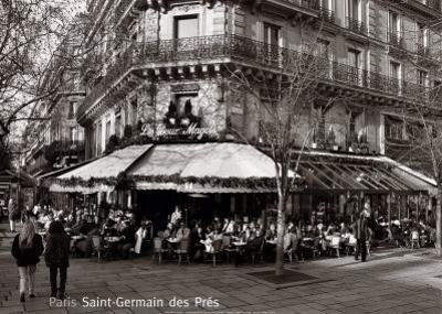 Saint-Germain des Pres, Paris