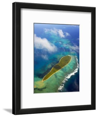 Aerial of Reefs and Islands in Ha'apai Group