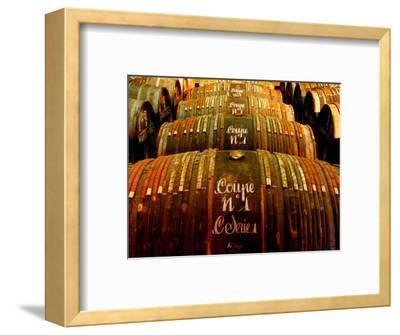 Barrels of Hennessy Cognac, Cognac, Poitou-Charentes, France