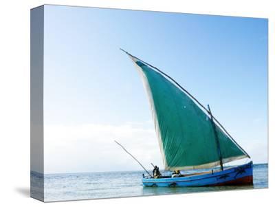 Dhow Sailing Off Coast of Vilanculos