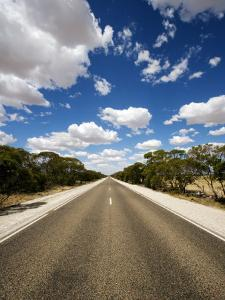 Mallee Highway Near Ouyen by Oliver Strewe
