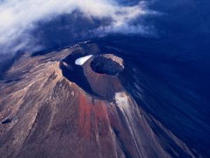Young Volcano of Mount Ngauruhoe, Tongariro National Park, Manawatu-Wanganui, New Zealand by Oliver Strewe