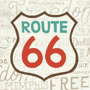 Road Trip Route 66 Retro by Oliver Towne