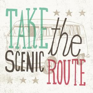 Road Trip Scenic Route by Oliver Towne