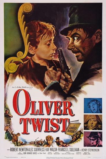 Oliver Twist, John Howard Davies, Robert Newton, 1948--Art Print