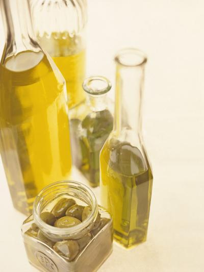 Olives And Olive Oil-David Munns-Photographic Print