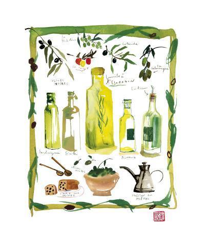 Olives-Lucile Prache-Giclee Print