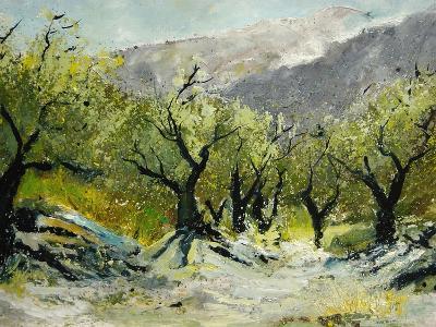 Olivetrees-Pol Ledent-Art Print