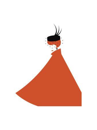 Lady in Pillbox Hat