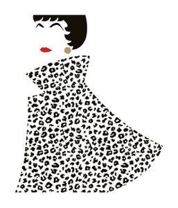 Lady in Swingcoat 1 by Olivia Blinco