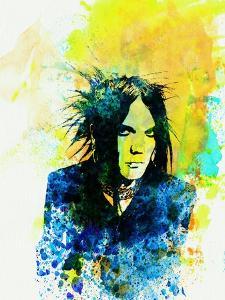 Legendary 69 Eyes Watercolor by Olivia Morgan