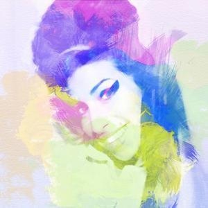 Legendary  Amy Watercolor by Olivia Morgan