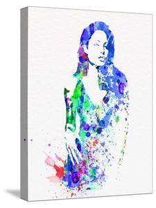 Legendary Angelina Watercolor by Olivia Morgan