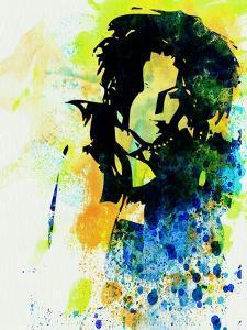 Legendary Ani Difranco Watercolor by Olivia Morgan