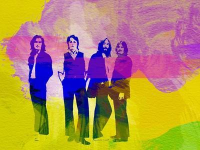Legendary Beatles Watercolor