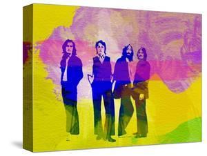Legendary Beatles Watercolor by Olivia Morgan