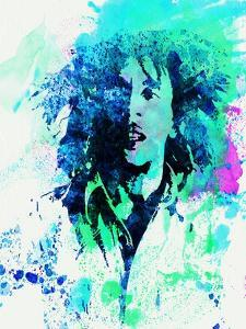 Legendary Bob Marley Watercolor by Olivia Morgan