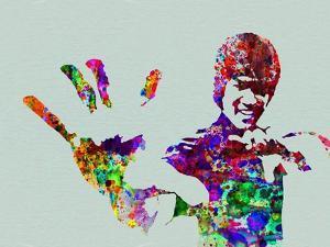 Legendary Bruce Lee Watercolor by Olivia Morgan