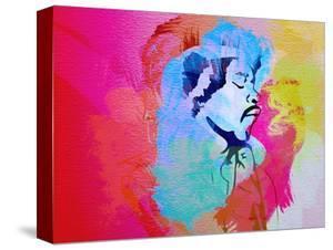 Legendary Hendrix Watercolor by Olivia Morgan