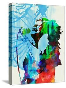 Legendary Janis Joplin Watercolor by Olivia Morgan
