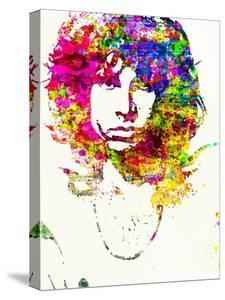 Legendary Jim Morrison Watercolor by Olivia Morgan