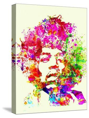 Abstract Jimi Hendrix Music Canvas Print Picture Wall Art