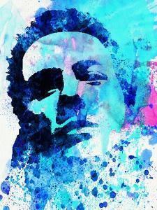 Legendary Joe Strummer Watercolor by Olivia Morgan