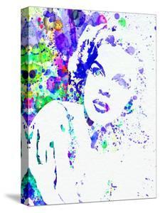 Legendary Judy Garland Watercolor I by Olivia Morgan