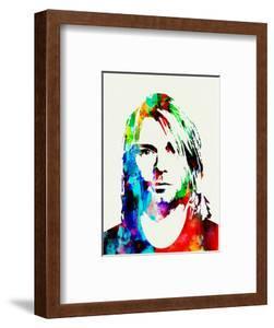 Legendary Kurt Cobain Watercolor by Olivia Morgan
