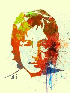 Legendary Lennon Watercolor II by Olivia Morgan