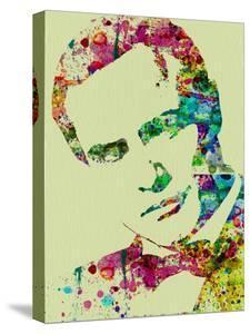 Legendary Marlon Brando Watercolor by Olivia Morgan