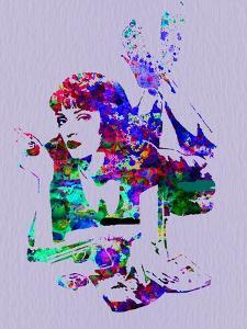 Legendary Mia Wallace Watercolor by Olivia Morgan
