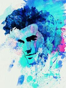 Legendary Morrissey Watercolor by Olivia Morgan